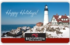 Red Lobster: $5 OFF $25 Gift Card Purchase