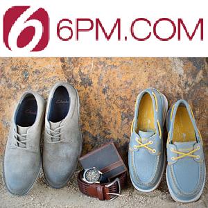 6pm:精选男式服装、鞋包等高达 76% OFF