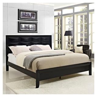 Harrison Queen Bed Frame in Black