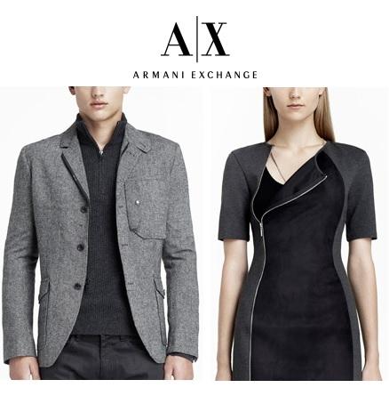 Armani Exchange:全场额外45% OFF + 免运费