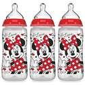 史低价!NUK 婴儿奶瓶,米老鼠图案,10 oz,3个装