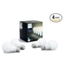 Philips Hue A19 白色智能灯泡 4支装 ,支持Alexa