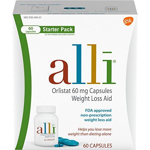 alli Diet Weight Loss Supplement Pills Starter Pack
