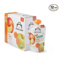 Amazon Brand - Mama Bear Organic Baby Food Pouch, Stage 2, Mango Apple Carrot Peach, 4 Ounce Pouch (Pack of 12)