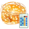 TaoTronics Dimmable Led String Lights Copper Wire 33ft LED Starry Light $14.99 FREE Shipping on orders over $25