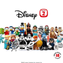 LEGO乐高 Minifigures 系列 迪士尼 71024小人仔