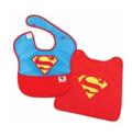 Bumkins 超人带斗篷防水婴儿围兜