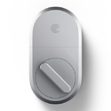 August Smart Lock, 3rd Gen Technology - Silver, Works with Alexa $55.30, free shipping