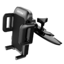 Mpow Car Phone Mount,CD Slot Car Phone Holder Universal Car Cradle Mount with Three-Side Grips and One-Touch Design $10.49