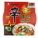 NongShim Shin Bowl Noodle Soup Gourmet Spicy Ounce Pack of 12