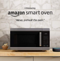 Introducing Amazon Smart Oven, a Certified for Humans device - 4-in-1 convection oven, microwave, air fryer, and food warmer, plus Echo Dot $249.99,free shipping