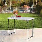 Lifetime 4尺折叠桌