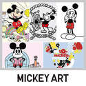 Uniqlo From $7.9 MICKEY ART UT T-Shirt Collection