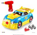 带声光电的玩具赛车,30个零件