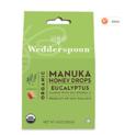 Wedderspoon Organic Manuka Honey Drops, Eucalyptus + Bee Propolis, 4.0 Oz, Unpasteurized, Genuine New Zealand Honey