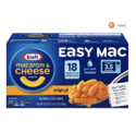 Kraft Easy Mac Microwavable Macaroni & Cheese (6.7oz Packets, Pack of 18)