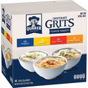 Amazon: Quaker Instant Grits, 4 Flavor Variety Pack, 0.09oz Packets (48 Pack)