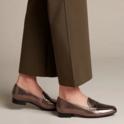 速抢!CLARKS 女士乐福鞋 $19.90