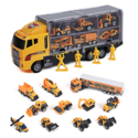 Amazon: Toy Truck Toys for Boys and Girls Toy Cars 11 in 1 Engineering Construction Car