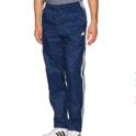 adidas 男款三条杠防风裤