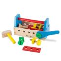 Melissa & Doug Take-Along Tool Kit Wooden Construction Toy (24 pcs) $11.20