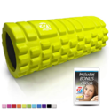 321 STRONG Foam Roller - Medium Density Deep Tissue Massager for Muscle Massage and Myofascial Trigger Point Release, with 4K eBook $16.99