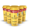 Ready to Drink, Bottled Gevalia Coffee Shots - 100mg Caffeine, Espresso, Premium coffee energy boost in a ready-to-drink 2-ounce shot, 6 pack