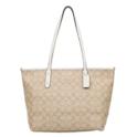 Coach Signature City Zip Tote Bag $126.28,free shipping