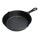 Lodge 6.5 Inch Cast Iron Skillet. Extra Small Cast Iron Skillet for Stovetop, Oven, or Camp Cooking $5.59