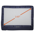 Gemmy 39121-32 149寸 便携户外充气电影屏幕