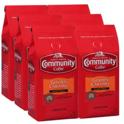 Community Coffee 焦糖口味咖啡粉 中度烘焙 12oz 6包