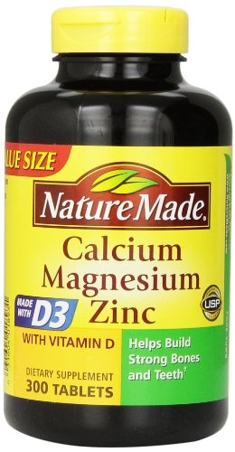 Nature Made Calcium, Magnesium Oxide, Zinc with Vitamin D3