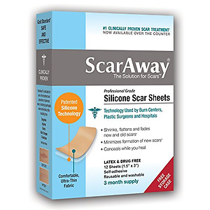 ScarAway Professional Grade Silicone Scar Treatment Sheets