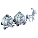 Lillian Rose Keepsake Pewter Tooth and Curl Box