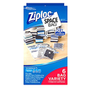 Ziploc Space Bag 6 Count
