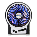 Efluky Mini Rechargeable Portable Table Fan