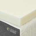 ExceptionalSheets 2英寸记忆棉薄床垫