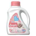 Dreft Stage 1: Newborn Liquid Laundry Detergent (HE), 50 Fl Oz (32 Loads), 2 Count