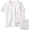 HUGO BOSS Men's 3-Pack Cotton Crew T-Shirt, White, Small