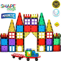 Magnetic Stick N Stack 120-Piece Classic Plus Set with 2 Wheel Bases