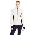 Marc New York Performance Women's Colorblock Polar Fleece Jacket, Ivory/Black, Medium