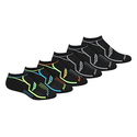 Saucony Men's 6 Pack Performance No Show Socks