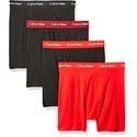 Calvin Klein 男士平角内裤4条装