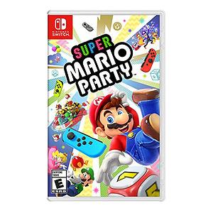 《超级马里奥派对》 switch 实体版多人派对游戏