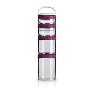 BlenderBottle C02504 GoStak Twist n' Lock Storage Jars