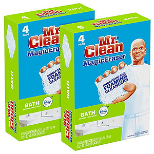Mr. Clean Magic Eraser Bath, Cleaning Pads 8 Count