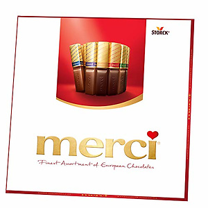 MERCI Finest Assortment of European Chocolate Candy, 7 Ounce Box