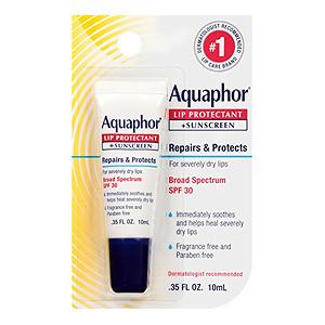 Aquaphor 修护防晒润唇膏