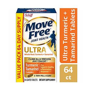 Move Free 维骨力最新款 含姜黄素和罗望果
