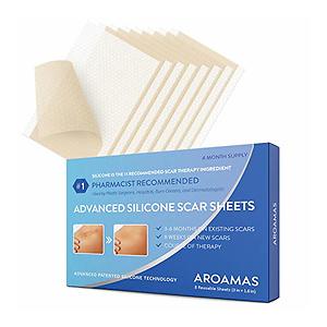 Aroamas Professional Silicone Scar Sheets